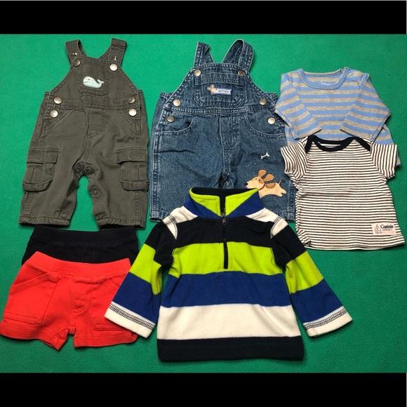 Carter/'s Toddler Boys Active Wear Half-Zip Pullover Long Sleeve Top NWT